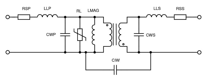 Figure 4: Transformer equivalent circuit
